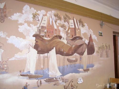 Расписываем стены в Саратове
